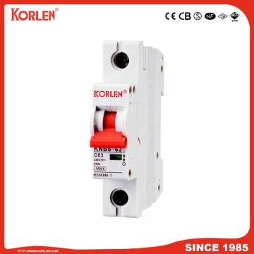 Miniature Circuit Breaker with 6ka/10ka C63A