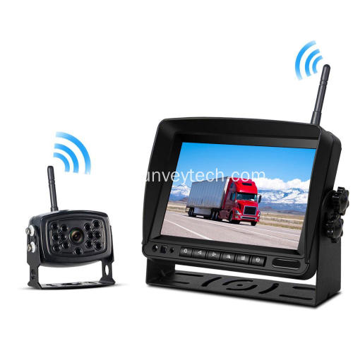 Front Side Rear View Backup Camera Monitor