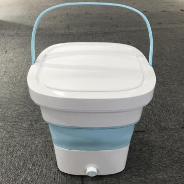 New Model 2KG Capacity Mini Folding Washing Machine