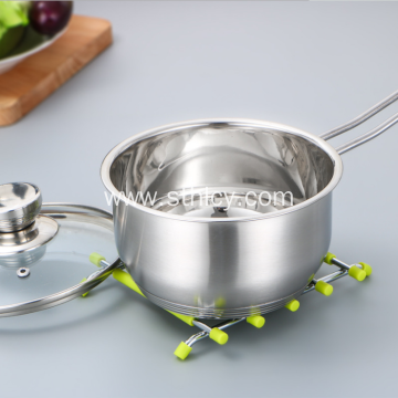 Korean Stainless Steel Pot 3 Mga Piraso