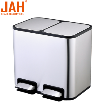 JAH 430 Stainless Steel Classified Pedal Garbage Can