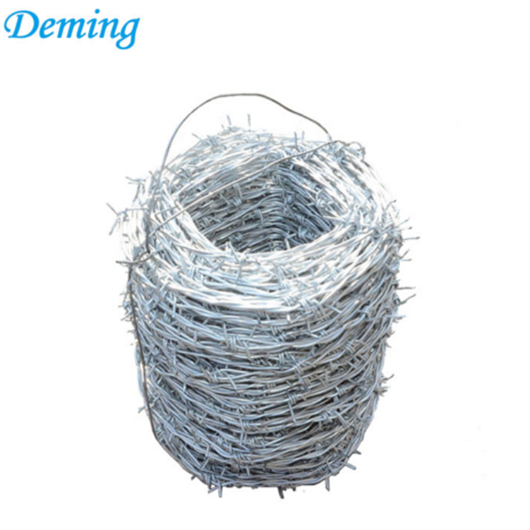 Good Quality Galvanized And PVC Coated Barbed Wire