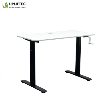 Hand Crank Sit to Stand Office Desk