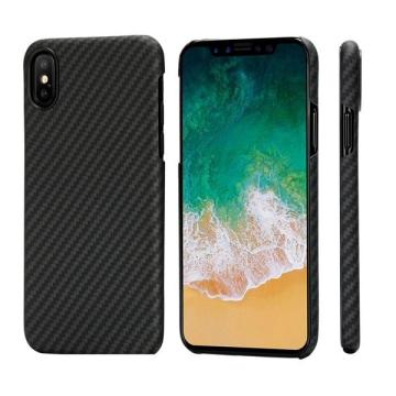 Caso da fibra de Aramid do iPhoneX do aperto 3D com ímã