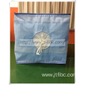 One ton square bulk storage bag