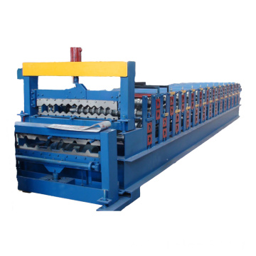 High Quality Double Layer Sheet Roll Forming Machine