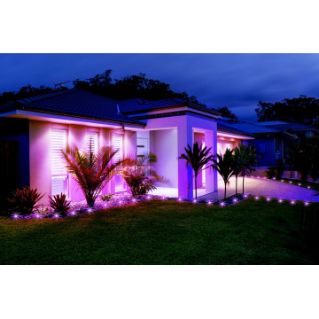 Smart Colorful Mini Garden Spotlight Solar Mode