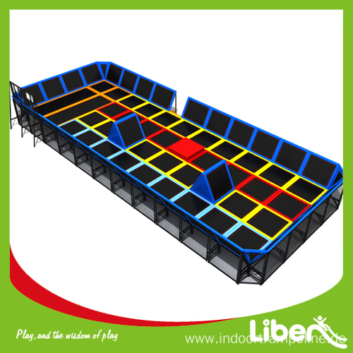 Large indoor trampoline floor cloth