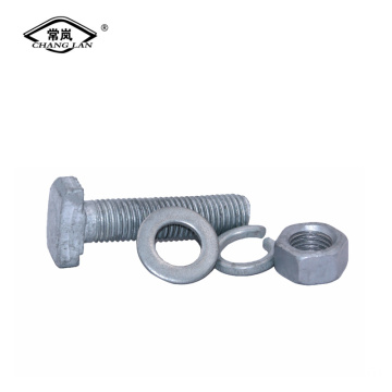 carbon steel T-bolt halfen bolt