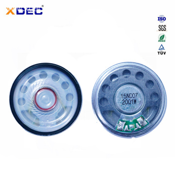 45mm loud sound 20ohm 1w heat detector speaker