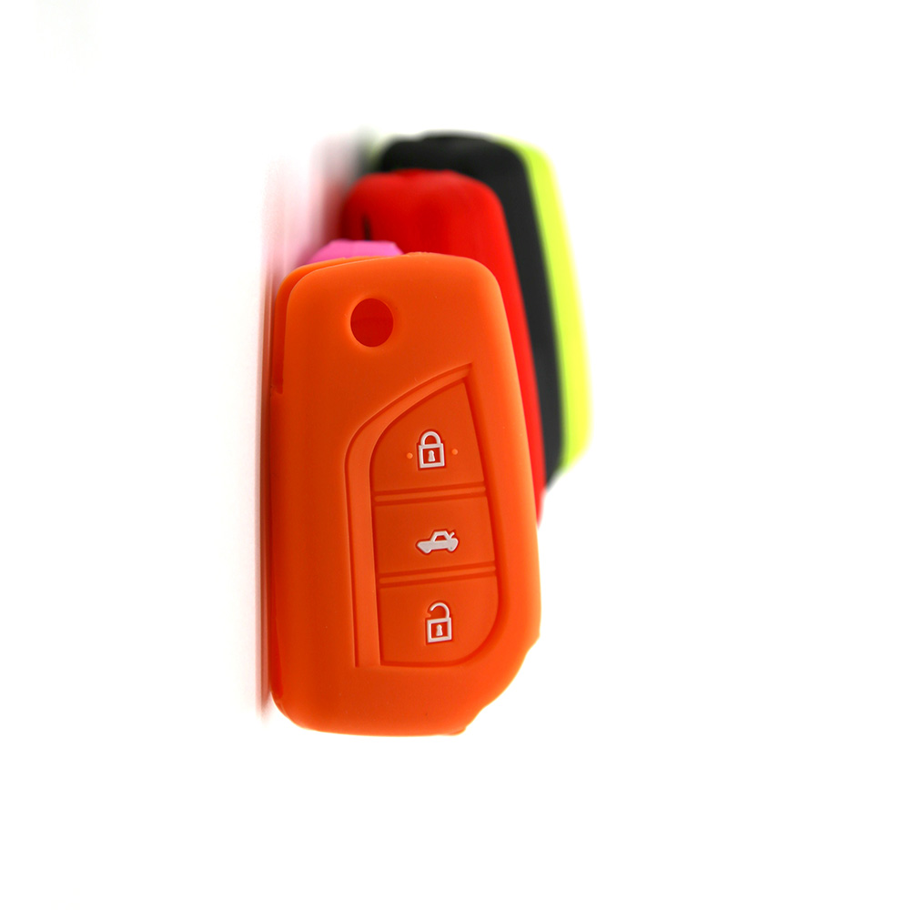 Toyota Silicon Corolla Car Key Cover