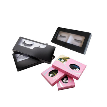 Custom False Eyelashes Printing Box with Clear Window