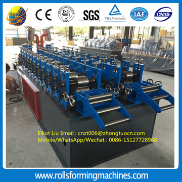 Ceiling system roll forming machine