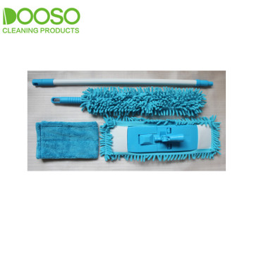 Microfiber Cleaning Flat Mop Duster Refill sets
