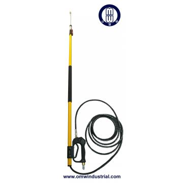 24ft Pressure Washer Telescoping Wand with Gutter Cleaner