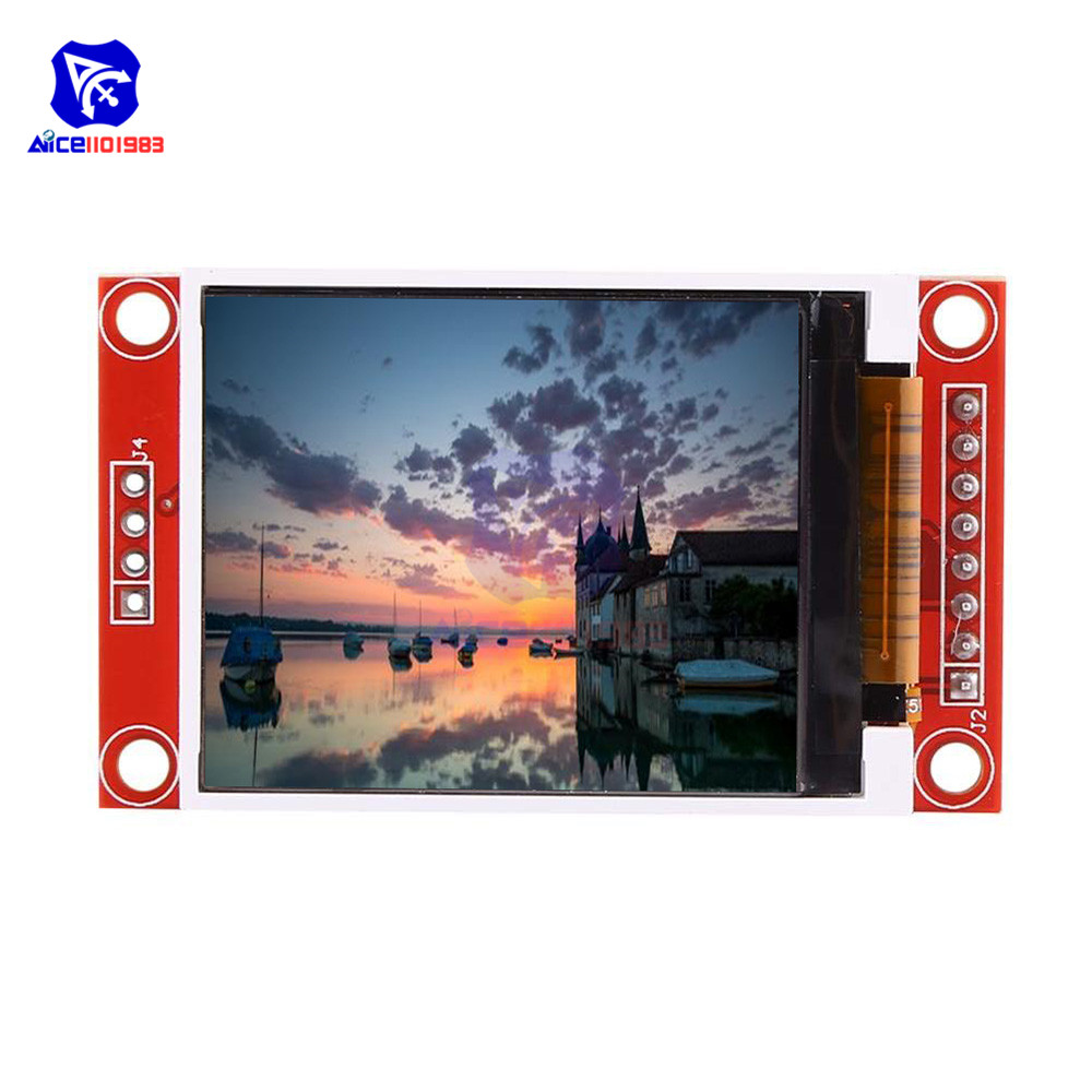 1.8 inch TFT Full Color LCD Display Module 4 IO SPI Serial Interface Module 128x160 ST7735S for Arduino 51 AVR STM32 ARM