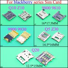 YuXi For BlackBerry 9800 9810 Q10 Z10 9900 9930 Q5 Z30 Q20 Sim Card Reader Holder Slot Connector Parts Mobile Phone