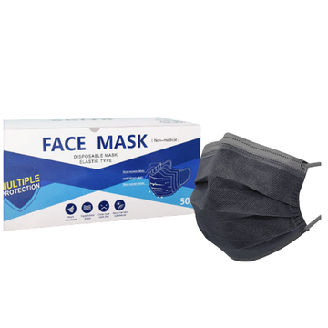 Adults 3 Ply Non-woven Fabric Disposable Face Mask