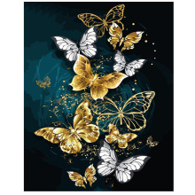 Diamond Embroidery painting puzzle 5d,Full,diamond painting christmas,square Rhinestone,Mosaic abstract butterfly pattern