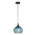Simple Edison bulb lighting loft glass pendant lamp