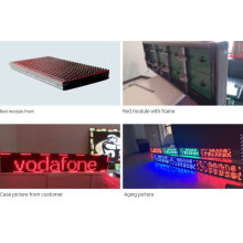 outdoor red color advertising P10 led moduels
