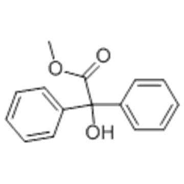 Benzeneacetic acid, a-hydroxy-a-phenyl-, methyl ester CAS 76-89-1