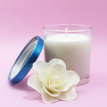 multi-shape scented jar glass candle for decoration