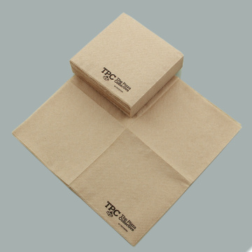 Unbleached Brown Cocktail Napkins