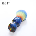 Synthetic Fiber Shaving Brush Handles custom color