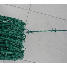 Price razor galvanized PVC coated barbed wire