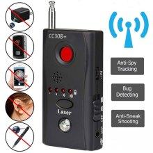 Wireless Camera Lens Signal Detector CC308+ Radio Wave Signal Detect Camera Full-range WiFi RF Tracker GSM Devices Finder