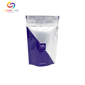 Recycle Food Packaging Stand Up Pouch With Zipper