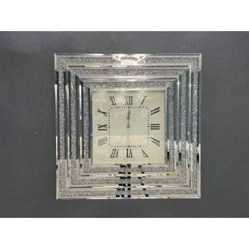 three-dimensional wall Clock Square