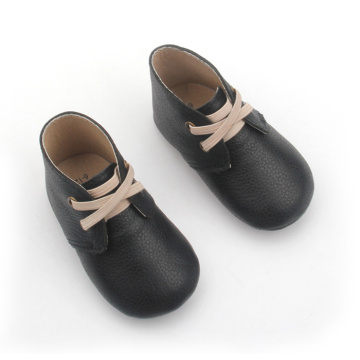 Quality Cow  Leather Baby Winter Shoes Boots