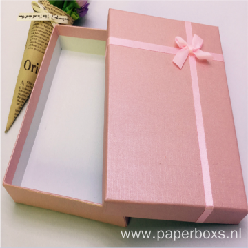 Custom Fancy Garment Packaging Box