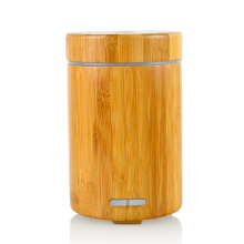 7 Color Changing Bamboo Premium Essential Oil Diffuser