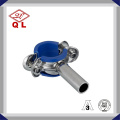 Sanitary Stainless Steel DIN Round Pipe Holder