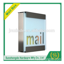 SZD SMB-073SS Promotional stainless steel letter box mailbox with post