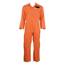 TC orange overall for work men