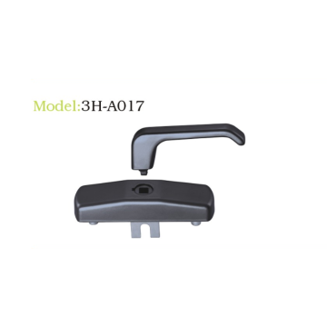 Multi-point lockable handle separate