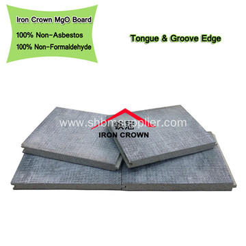 High Density Anti-Termites Fireproof MgO Carved Board