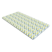Memory Foam Roll Lounger Triangles Pattern
