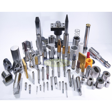 Custom machining mold components punches and dies