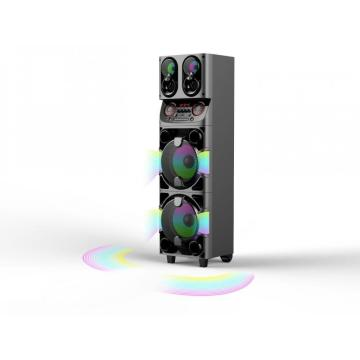 Double 10inch Party Speaker With RGB Light