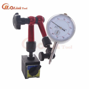 Mini 10mm Dial Indicator Magnetic Stand Base Holder Dial Test Comparator For Equipment Calibration