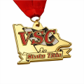 Best custom gold metal medal bulk price