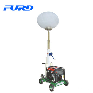3kw gasoline generator balloon light tower for night construction