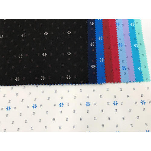 Polyester Cotton Stretch Plain Printed Fabric