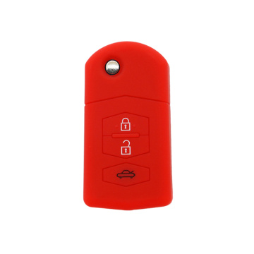 Mazda Silicone Remote Key Cover with 3 Buttons