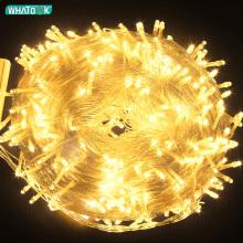 Xmas Outdoor christmas lights led fairy string lights 10M 20M 30M 50M100M Luces Decoracion garland Wedding holiday light EU Lamp